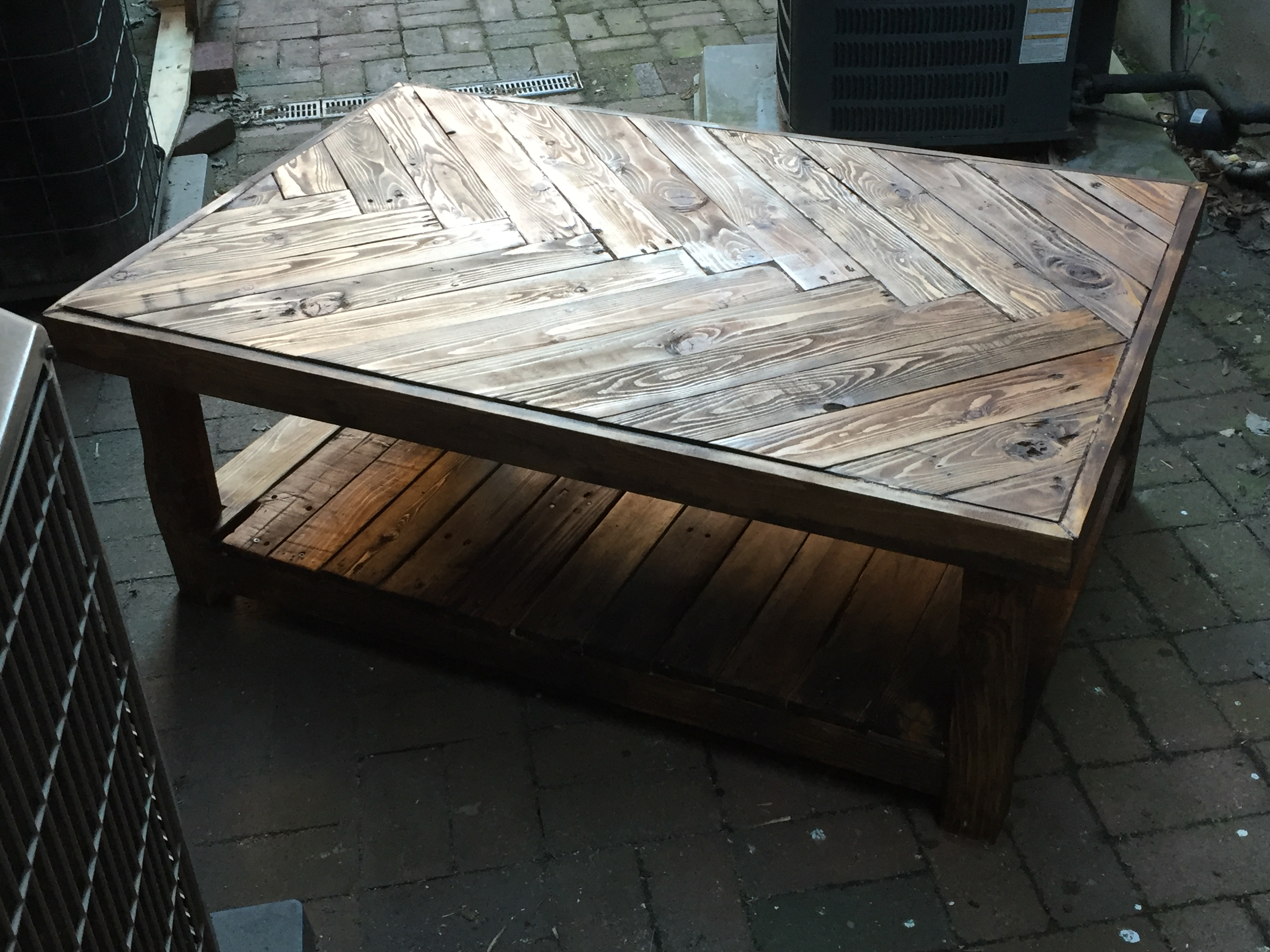 Pallet Coffee Table Re do – R Lance Davis